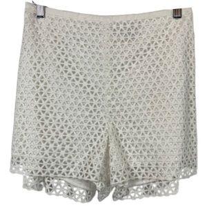 NWT 1.State Eyelet Shorts in White